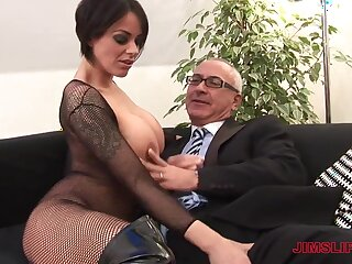 Victoria Black-hearted fists say no to own asshole and gets fucked overwrought an patriarch guy